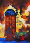 'Finding My Door'  Barbara Mason  $750.00