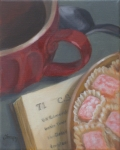 'Tea with Mr. Lewis' Tempy Berg-Gilbert $150.00